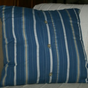 Blue Collar Pillow