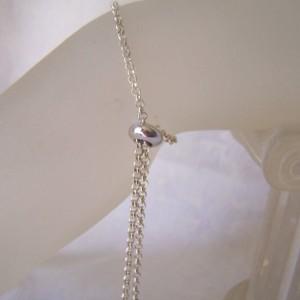 Bolo Bracelet Silver Adjustable Bracelet