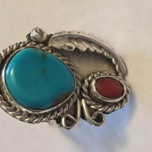 Size 6 Turquoise ring