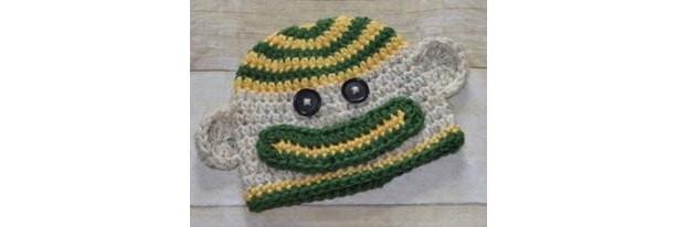 Green Bay Packers Sock Monkey Hat