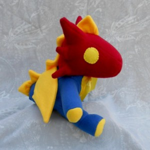 Primary Colored Small Dragon
