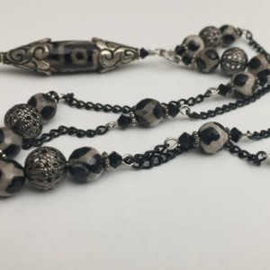 Dzi Bead Necklace