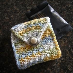 Tea Bag  Wallet for Purse/Bag