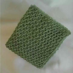 Lover's Knot Wrap in Aspen Green