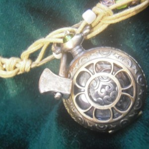 """Victorian """"Wizard of Oz"""" inspired necklace"""