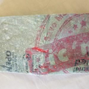 Fused Plastic Billfold