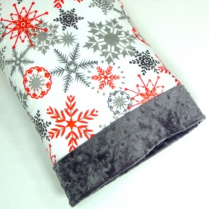 Travel Pillowcase - 12x16 Pillowcase - Toddler Gift - Snowflake - Gift Under 15 - Minky Pillowcase - 12 x 16 - kids gifts - pillow cover