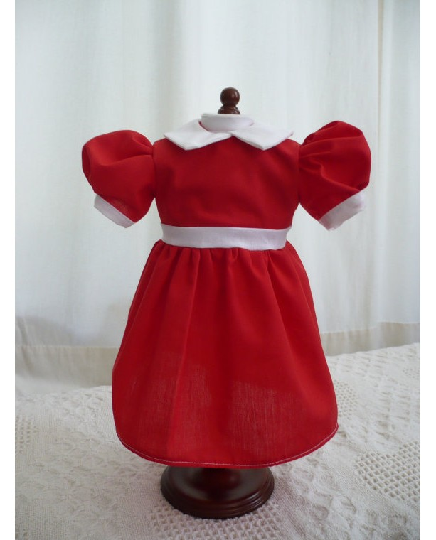 Little Orphan Annie Dress for 18' Doll