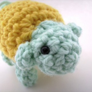 Crochet Sheep Lamb Amigurumi Plush Toy Yellow