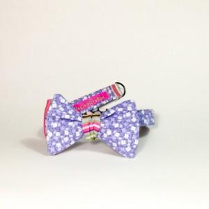 reversible bow tie purple flower tie magnet bow tie magnet bowtie polka dot tie self tie bow tie self tie bowtie striped bow tie handmade