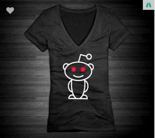 Reddit Alien Xs To Xl District Brand V Neck T Shirt For