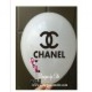 Chanel White Balloons