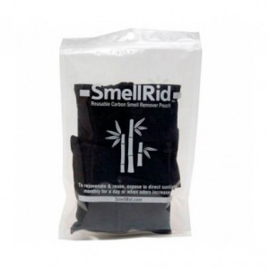 "SMELLRID Reusable Activated Carbon Odor & Moisture Absorber - Small: 6 (2.5"" x 3"") Pouches/Pack. Each Treats Up to 25 sq. ft."