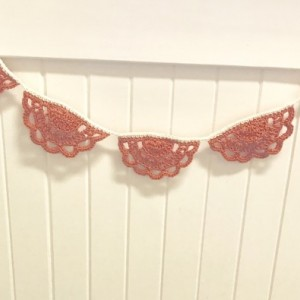 Party Lace Bunting Pennants