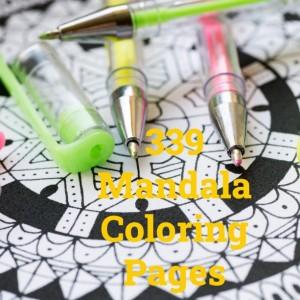 339 Mandala Coloring Pages