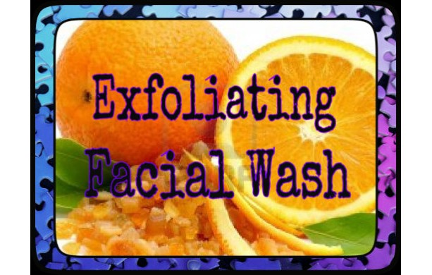 Orange Explosion Facial Wash