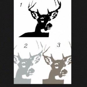 Deer Crib Sheet Large Buck You Choose Color