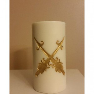 "3x6 ""Double Arrows"" Pillar Candle"