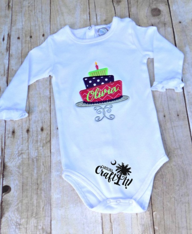 1st Birthday Shirts For Girls Or Boys Cake With Candles
