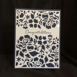 Handmade Wedding Card, Daughter Engagement, Marriage Them Card, Engagement Her Card, Congrats Friend Her, Friend Wedding Card