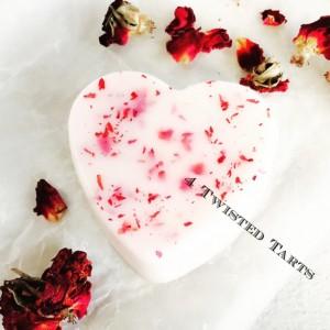 Organic Lotion Bar - Rose Petal
