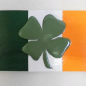 irish shamrock flag segmentation