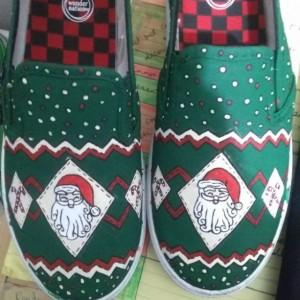 Christmas Pattern - Santa