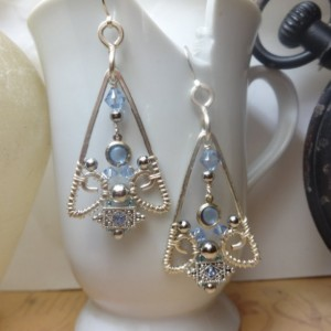 Eye of the Pyramid Earrings