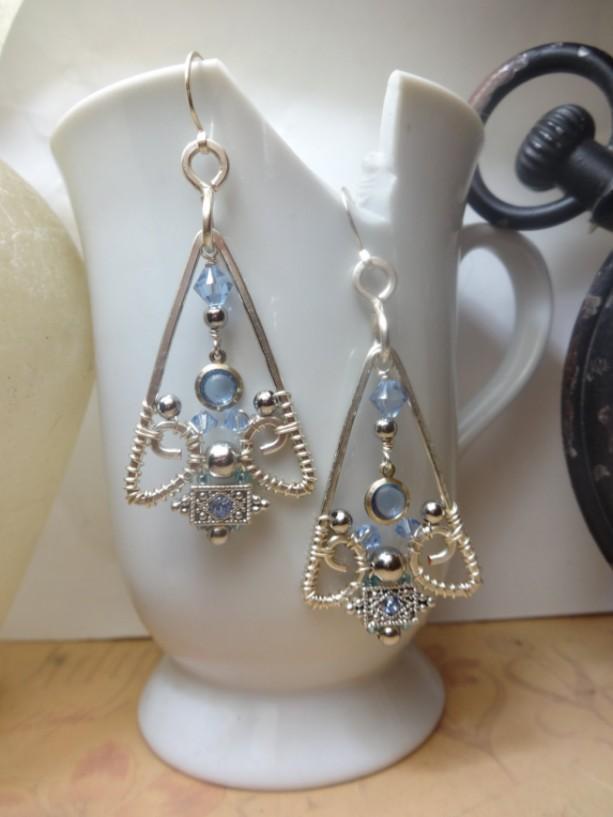 Eye of the Pyramid Earrings