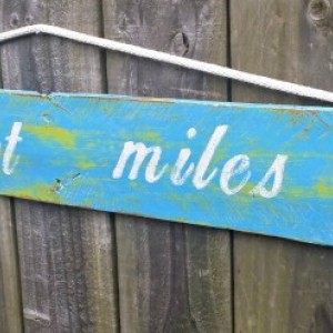 Handmade Shabby Key West Rustic Pallet Sign