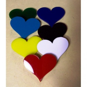 heart cabochons,SNAPBACK, heart charms, laser cut charms