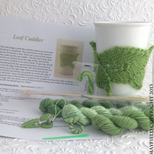 Leaf Cozy Knit Kit