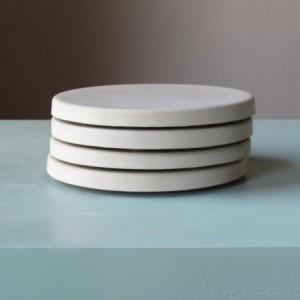 Round Concrete Coasters - Set of Four
