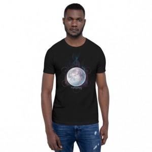 Moon Flame Short-Sleeve Unisex T-Shirt