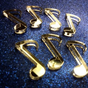 music notes,music charms,laser cut charms,musical notes