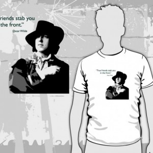 Oscar Wilde - True Friends T-Shirt