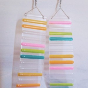 Color Strip Earrings