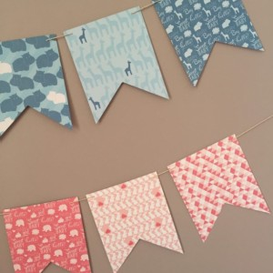 Baby Shower Garland - Baby Shower Decoration - Baby Shower Bunting