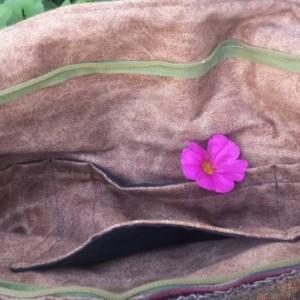 Handmade Upcycled OoaK  Wildlife Tapestry/Carpet Shoulder bag