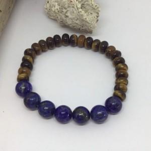 Lapis lazuli jewlery, Lapis lazuli bracelet, Lapis lazuli gemstone bracelet, Designer bracelet, AAA Lapis Lazuli, Stone that calms the mind,