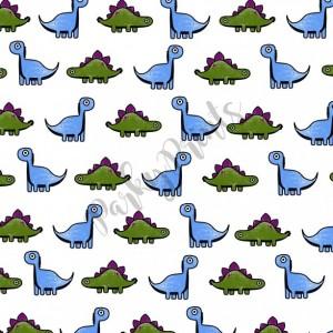 Dinosaur Print - Square