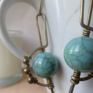 World on its Axis Earrings