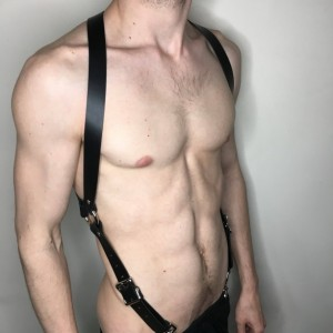 "1"" X-Back Harness Suspender"