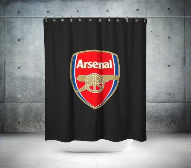 Arsenal FC Shower Curtain