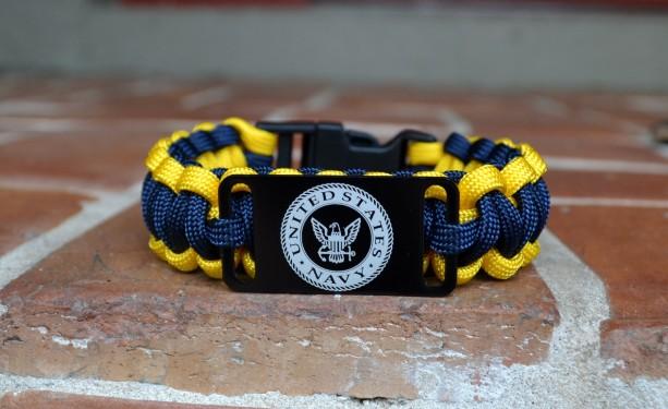Us Navy Military Paracord Bracelet