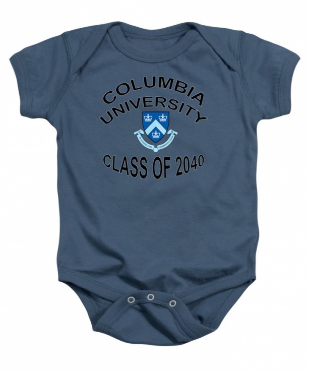 Columbia University Class Of 2040 Baby Onesie