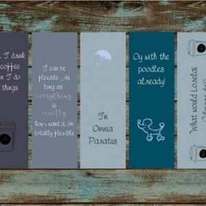 Gilmore Girls Bookmarks