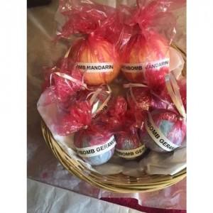 Large Bath Bomb Gift Basket