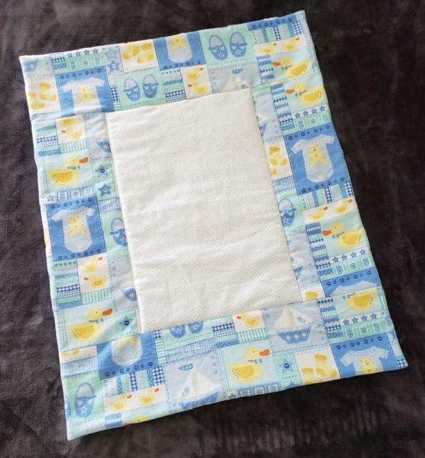 Baby Blanket, blue