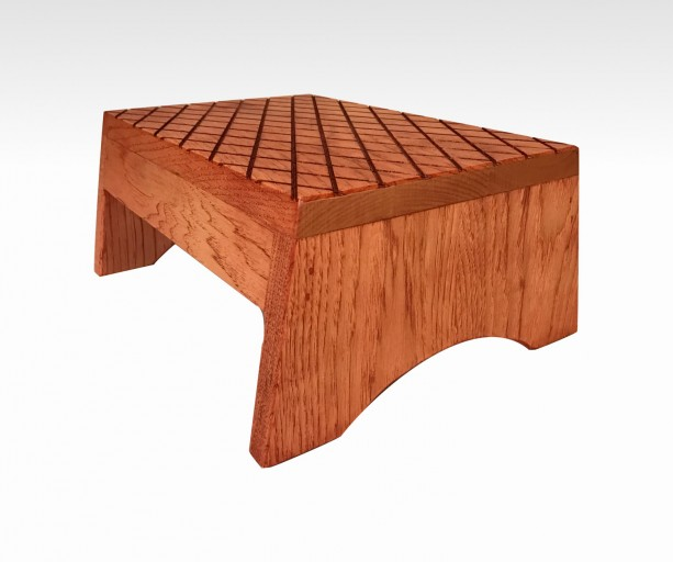 Step Stool in Barn Red by Candlewood Furniture, Wooden, Wood, Grandma Gift, Grandparents Gift, Grandpa Gift, Foot Stool, Bed, Custom